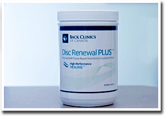 Herniated or Bulging Discs Get Healing Support With Nutritional