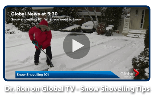 Global News Snow Shoveling Tips